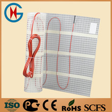 Fast to fit underfloor heating mat electric radiant heating