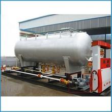 10m3 skid mounted lpg tanks, 1.77Mpa lpg filling tank , lpg gas filling station