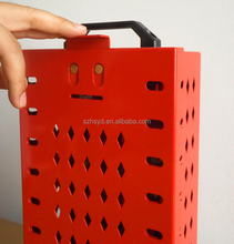 Master Lock Latch Tight RED Group Box, Portable or Wall Mnt
