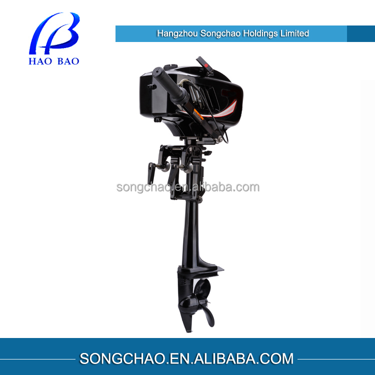 Chinese best manual start outboard engine buy best for 6hp outboard motor electric start