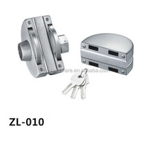 Glass door lock ZL-010