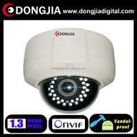 DONGJIA DA-IP6116HDV 2.8-12mm varifocal indoor 960p 1.3mp vandal-proof hd ip cctv camera video
