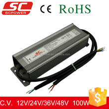 12v constant voltage dimmable power supply ip67 100w waterproof led power supply