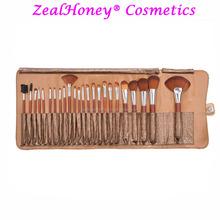 Zealhoney 24 piece makeup brush set unique beauty products professional makeup brush belt two style