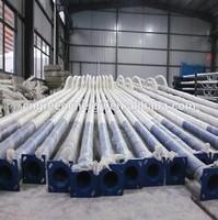 Hot sale aluminum decorative street lighting pole 4m, 5m, 6m, 8m, 10m,20m china professional manufacturer