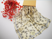 modish and voguish girls best fittings silk scarves