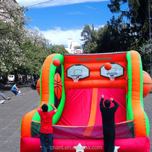 new coming basketball inflatable games for adults