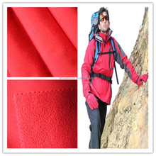 High Quality Waterproof Breathable Two-way Stretch Bonded Polar Fleece Fabric