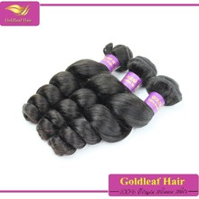 Sleek Brazilian Can Be Restyled Spiral Pure Remy Loose Wave Hair Extensions