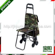 shopping luggage cart plastic electric shopping trolley