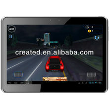 "high definition 10.1"" built-in gps 3g tablet pc Dual Sim MTK8377 dual core Android 4.1 Dual camera Bluetooth GPS TV(x10)"