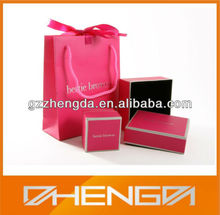 High Quality Handmade Recycle Cardboard Jewelry Gift Box, Paper Gift Box Wholesale