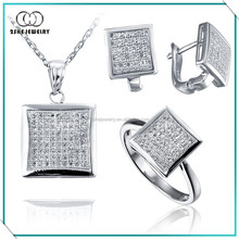 Jewelry settings and mountings sterling silver