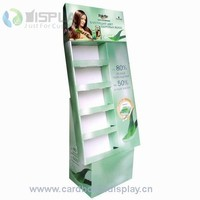 custom design 1-4c printing cardboard display wholesale with a discount/cardboard retailing stand booth