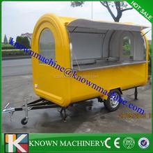 2.8M lengt 2M width big windows Mobile fast food cart,mobile food car