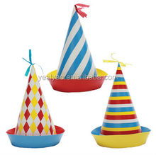 cute paper birthday party hat for kids