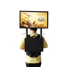22'' 1920x1080p Human LED display plus gps navigation system outdoor led large screen display