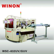 WSC-632UV/GUV Six Color Fully Automated WINON Screen Printing Machine for Soft Tube