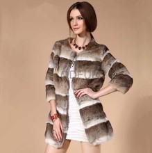 A29383 cheap winter jackets rabbit fur coat from china