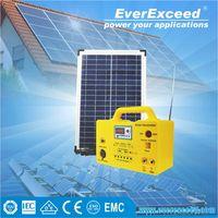 EverExceed portable Home Solar System / Solar Power System / Solar Generator