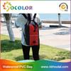 2015 Top sale 500D PVC tarpaulin red inflatable Dry Waterproof Bag for boating