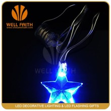 Super Glow Battery-operated Lighted LED Necklaces,Chaser Flashing Necklaces,LED Lighted Up Necklaces For Business Promotion Gift