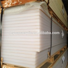 White Cast Thick Acrylic Sheet For Silding Door