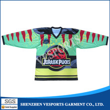 Personalized ice hockey jerseys team uniforms