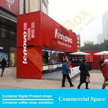 Expand containers prefab kiosk design, mobile container used prefab kiosk