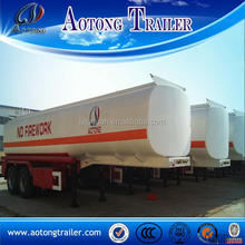 2 axle 35000l 38000l 40000l diesel petrol fuel oil tank trailer for sale