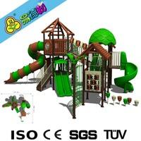 Forest series assembled slide playground