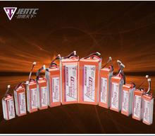 High discharging rate RC model battery 4S 14.8V 2600mAh 35C
