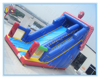 Factory price giant inflatable slide for sale,commercial inflatable spiderman slide for advertising
