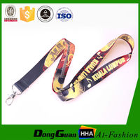 Customized lanyard accessories for making customers logo