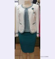 Latest office ladies 3 piece suits for wholesale,ladies office uniform design