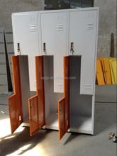 L Shape 6 Doors Steel Wardrobe Locker