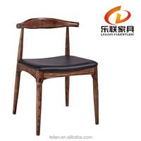 Replica Hans Wegner Y Chair /Beech Solid Wood in Black Color A03