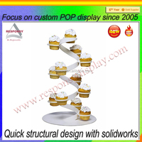 New design Acrylic cake display stand