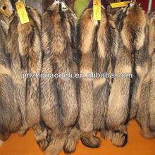 raccoon dog strip, raccoon dog trimming, raccoon dog fur