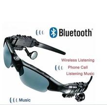 Sunglasses Mp3 Player with Bluetooth phone talk 4GB sports headphones bluetooth headset earphone earpiece Sunglass