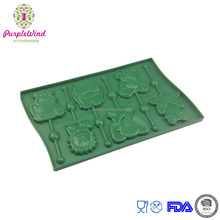 The popular animal shapes lollipop silicone cake mould