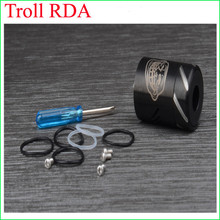 2015 Authentic Troll rda RDA atomizer Troll dripper in stock DHL fast delivery