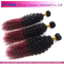 Alibaba Trade Assurance Paypal Accepted No Frizzy Tangle Free Grade 5A Kinky Curly Remy Hair Weaving 99j