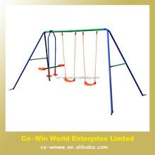 4 seat kids metal frame swing sets outdoor swing chair patio swing