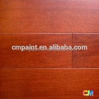 Floor protection Water based wood floor paint