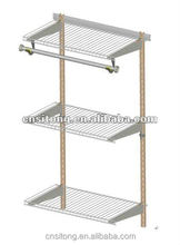 Modular Metal Wire Bathroom Shelves, Laundry Shelves