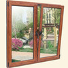 Generous fashion style low-e glass aluminium garden windows for sale