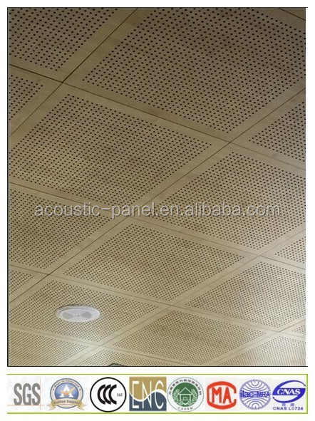 cheap cost wooden acoustic ceiling soundproof wood wall panel for interior decoration. Black Bedroom Furniture Sets. Home Design Ideas