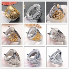Wholesale indonesia fashion emerald ruby diamond green sapphire ring