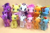 Cute My Little pony plush toy horse soft toys for promotional
